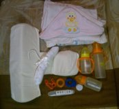 Бэбислип, спальный мешок, термометр, бутылочки итд