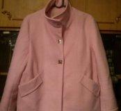 Очень теплое укороченное пальто