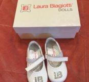 Итальянские туфельки новые 20 размер