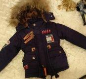 Парка (куртка)  на мальчика 1-2 года