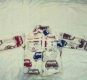 Рубашка для мальчика 2-3 года