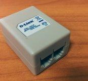 Разделитель ADSL сплиттер телефонного кабеля