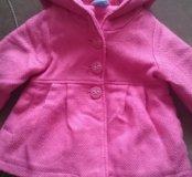 Лёгкое детское пальто