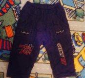 Зимние штаны для мальчика,размер 92