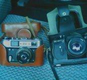 Продам фотоаппараты фед и Зенит