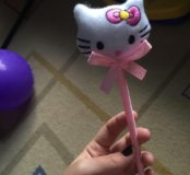 синяя ручка Hello Kitty