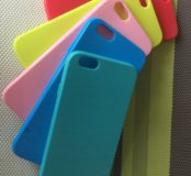 Чехлы силикон и стекла 9Н на iPhone 6/6s