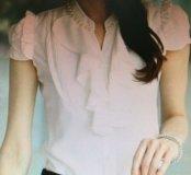 Блузка новая розовая