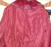 Куртка с отделкой из песца