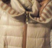 Зимняя куртка,носила один сезон.торг,(размер54-56)