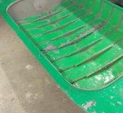 Лодка двухместная дюралевая весельная