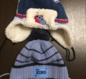 2 Детские зимние шапки