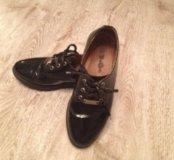 Школьные кожаные ботинки для девочки б\у 33размер