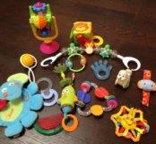Игрушки и зубопрорезователи