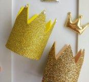 Повязка - корона для девочки