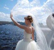 Свадебное платье принцессы 42-44р