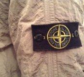 stone island nylon sheen down jacket