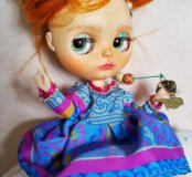 Коллекционная кукла Blythe