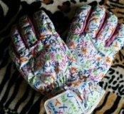 Перчатки зимние женские