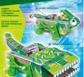 Научный опыт 2 в 1 Рептилии на батарейках, в короб