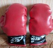 Боксерские перчатки для мальчика