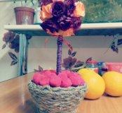 Топиарий. Цветочное дерево