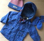 Куртка осень-весна 6-9мес