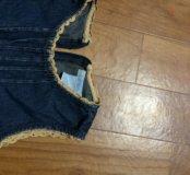 Сарафанчик джинсовый зара