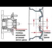 Расточка центрального отверстия в дисках