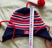 Детская трикотажная шапка 3-5л.