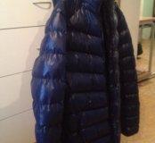 Мужская куртка, темно-синего цвета р.50-52