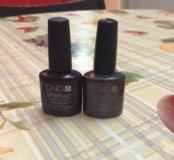 Шеллак CND цвет Plum Paisley и Vexed Violette