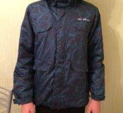 Зимняя теплая куртка мембрана рост 164