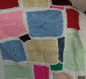 Покрывало вязаное детское