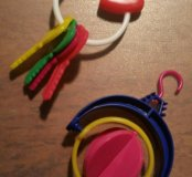 Игрушки для попугайчика