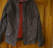Куртка мужская джинсовая 46р