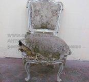 Обтяжка и ремонт стульев