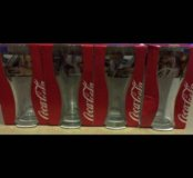 Стаканы от Кока-кола:)