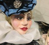 Ручная работа(кукла из полимерной глины)