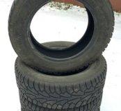 Зимняя резина б/у  185/65R15. Цена за 4 шт.