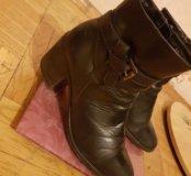 Ботинки осень кожа 37