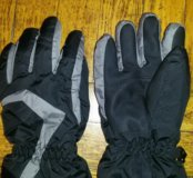 Перчатки тёплые для мальчика 8-9 лет