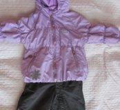 Полукомбинезон весенний и куртка reima. Мембрана