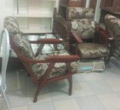 Кресло массив