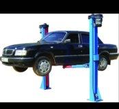 Автомобильный подъёмник двухстоечный