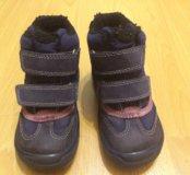 Ecco зимние ботинки 28