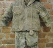 Зимний костюм куртка и штаны 1-2года