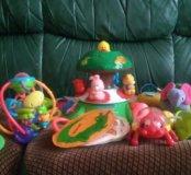 Детские игрушки пакетом до года.