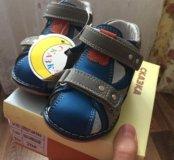 Детские ботинки на мальчика размер 20