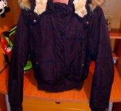 Новая финская куртка с мехом